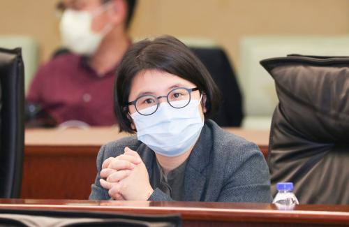 宋碧琪促支援中小企業穩定經濟