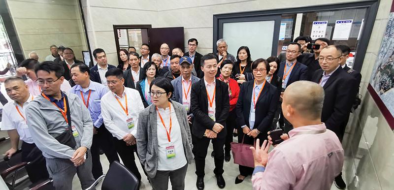 參觀學習晉江梅青社區黨建服務中心運營經驗